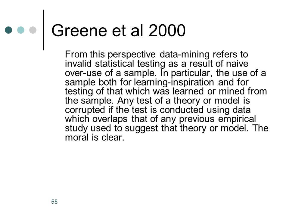 Greene et al 2000