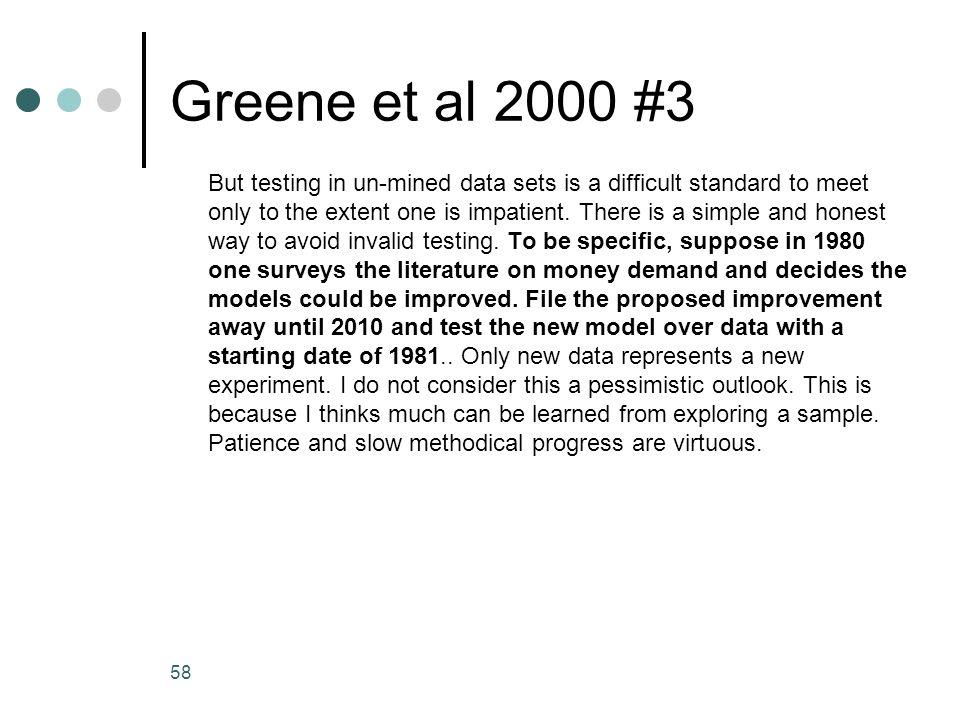 Greene et al 2000 #3