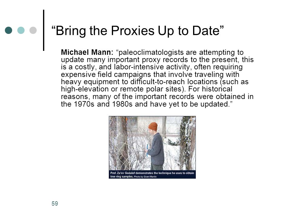 Bring the Proxies Up to Date