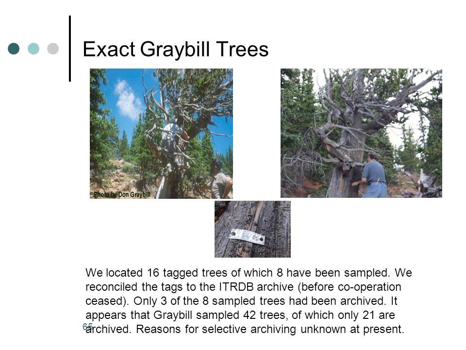 Exact Graybill Trees