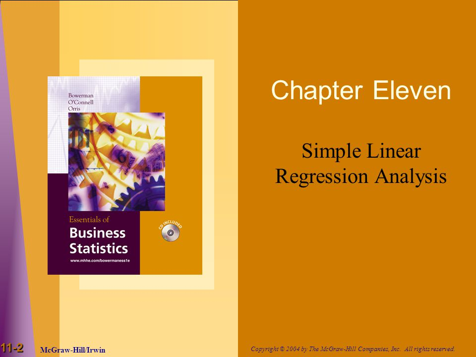 Simple Linear Regression Analysis
