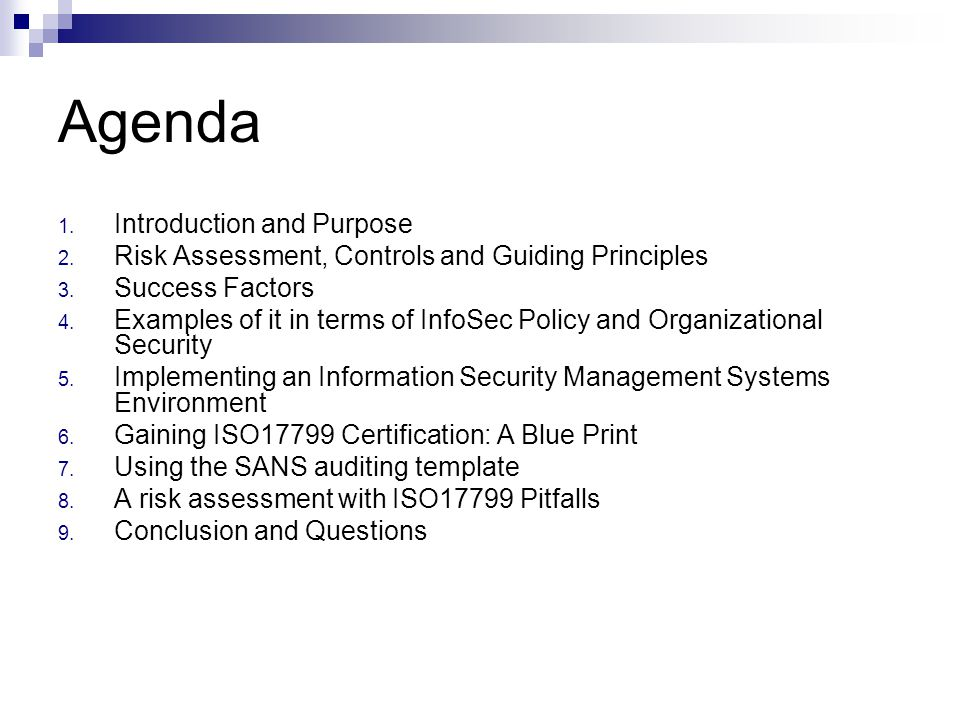 information security management and purpose Iso/iec 27001 is the best-known standard in the family providing requirements for an information security management system (isms).