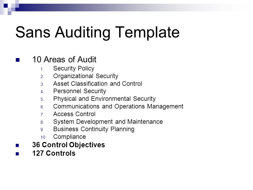 Iso infosec can you dig it ppt download for Physical access control policy template