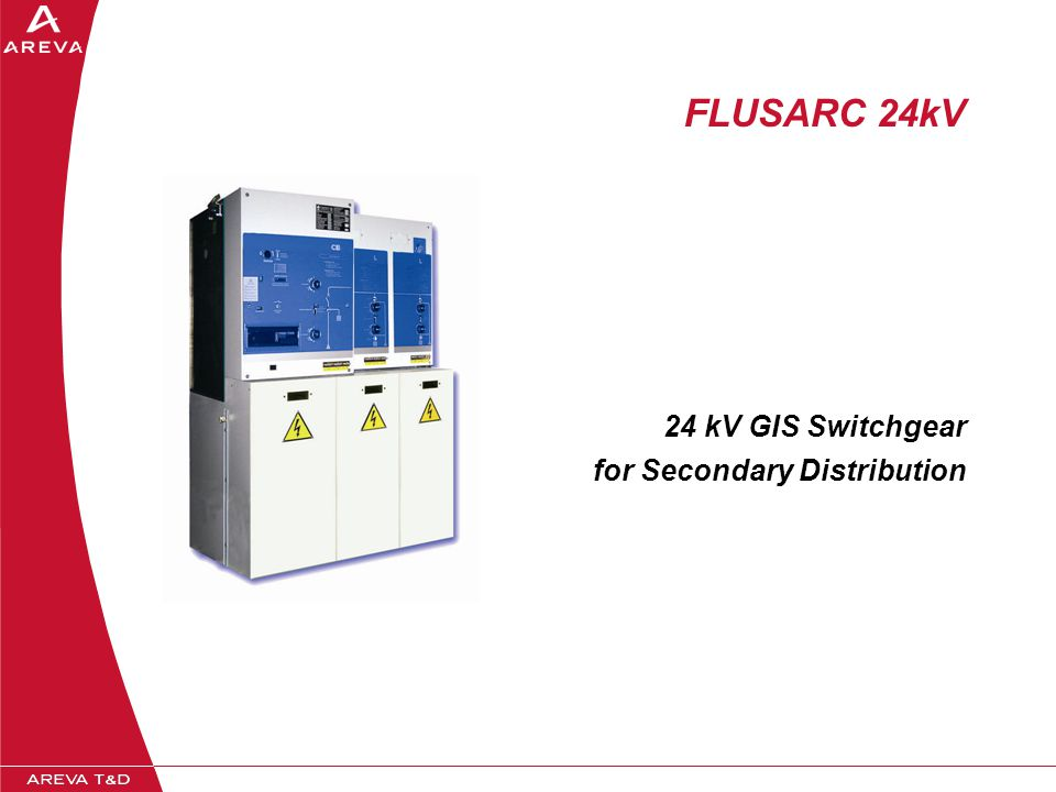 24 kV GIS Switchgear for Secondary Distribution