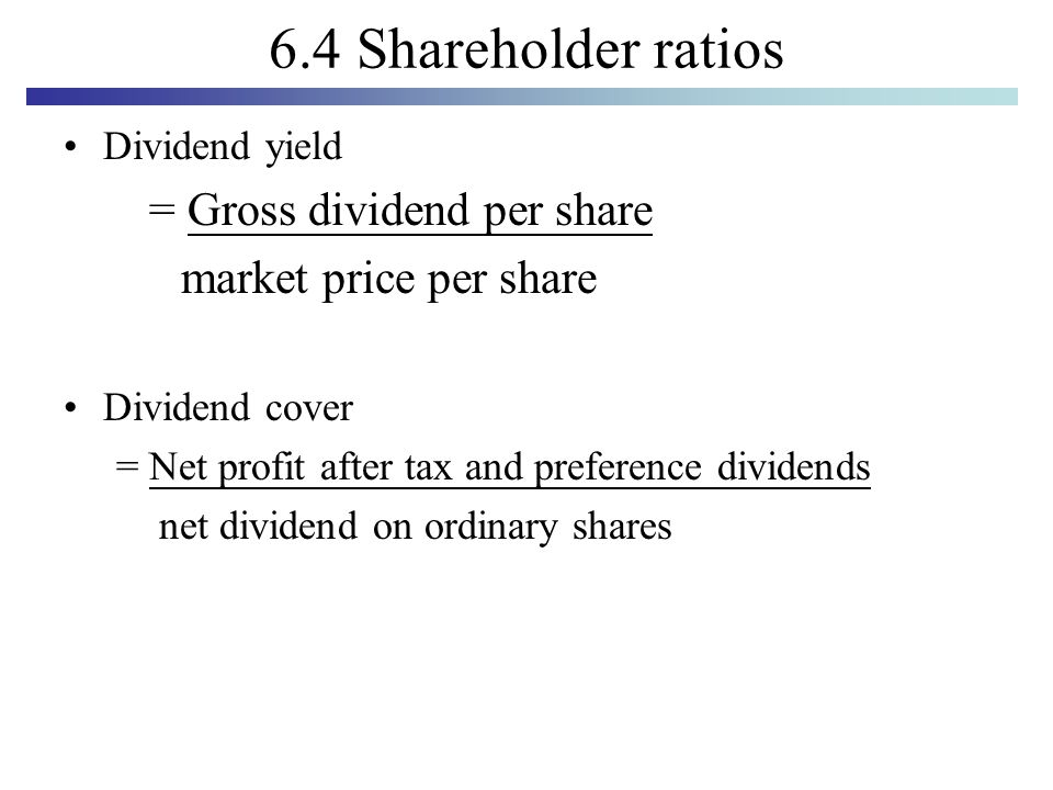how to find market price per share