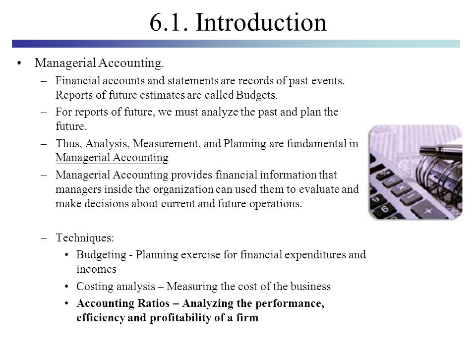 managerial accounting intro Find great deals on ebay for intro to managerial accounting shop with confidence.