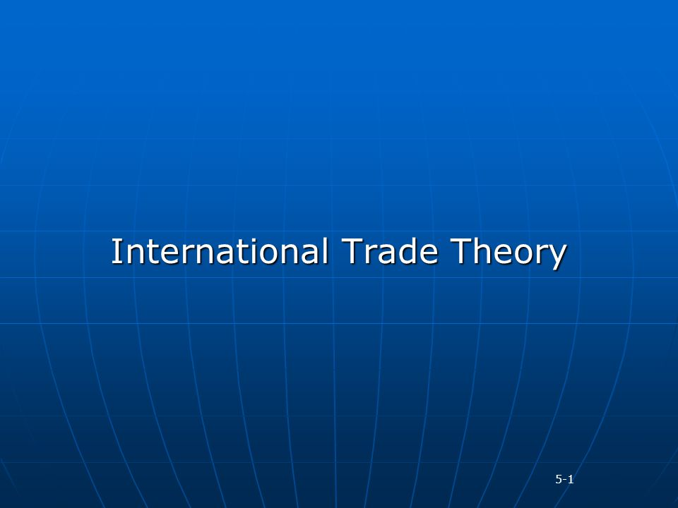 international trade theories pdf download
