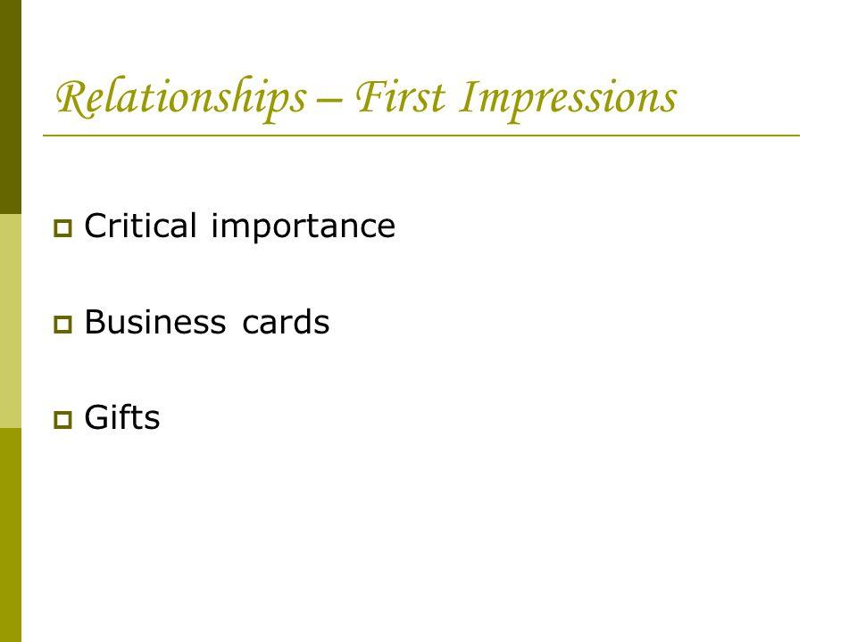 Kunthida jariyavithayakul ppt video online download for Importance of business cards