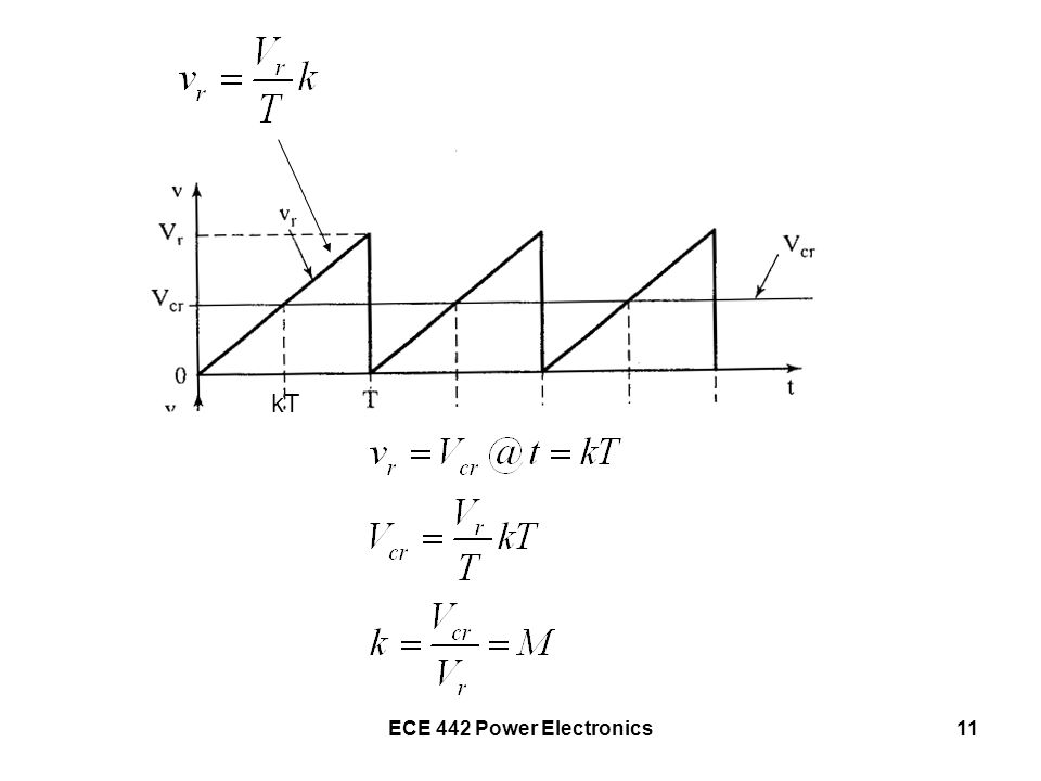 kT ECE 442 Power Electronics