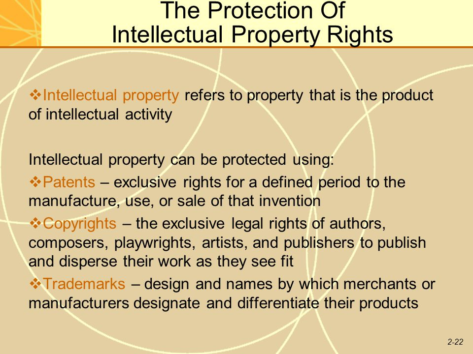 international protection of intellectual property rights 1 the effects of the trips agreement on international protection of intellectual property rights† ryan cardwell.