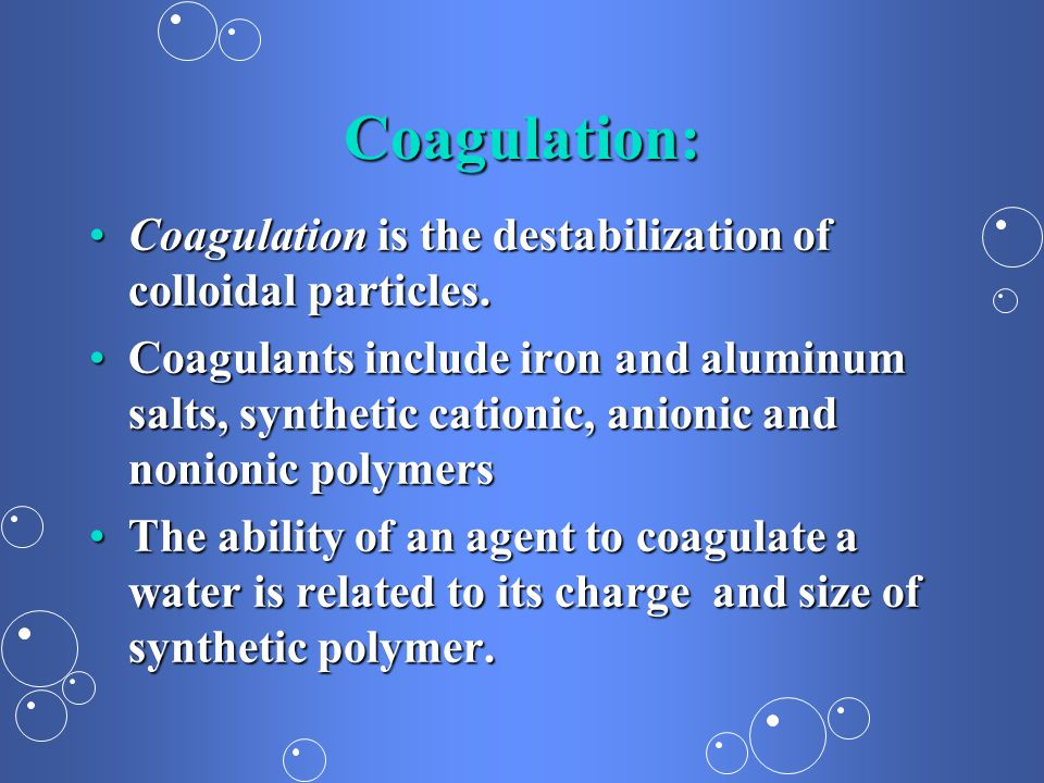 B Corrosion C Coagulation And Flocculation Ppt Video