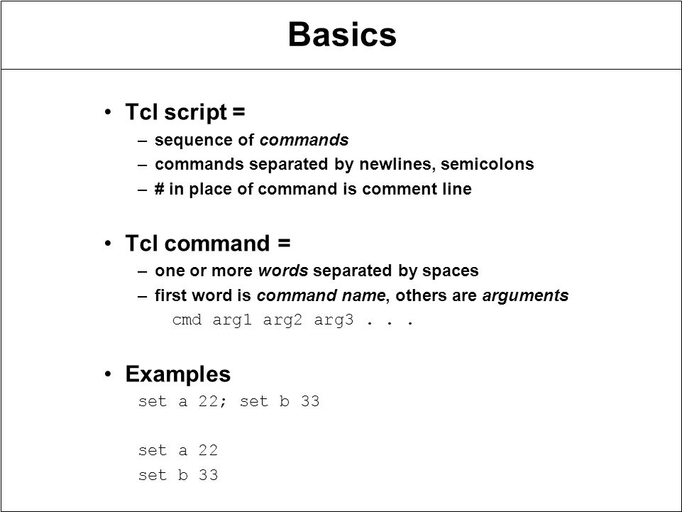 basics of script writing Basic javascript a tutorial in the fundamentals of javascript programming learn what it is, what it can do, and how to write a basic script event handlers.