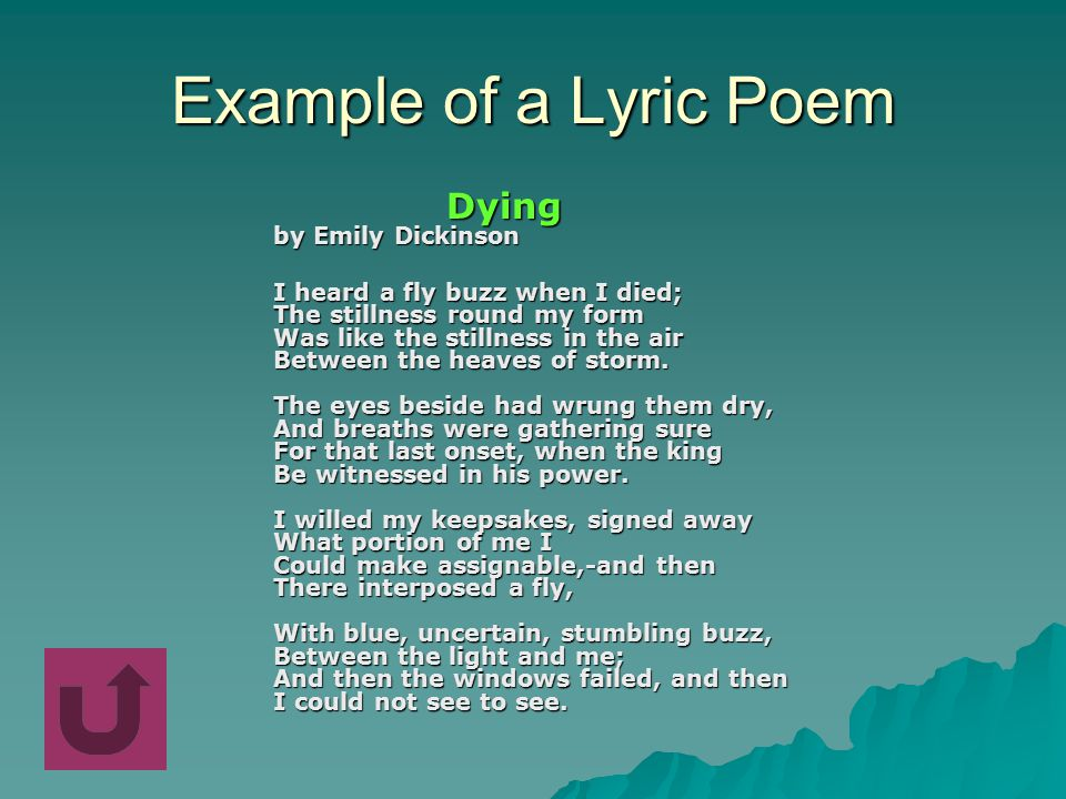 Lyric Narrative Dramatic - ppt video online download