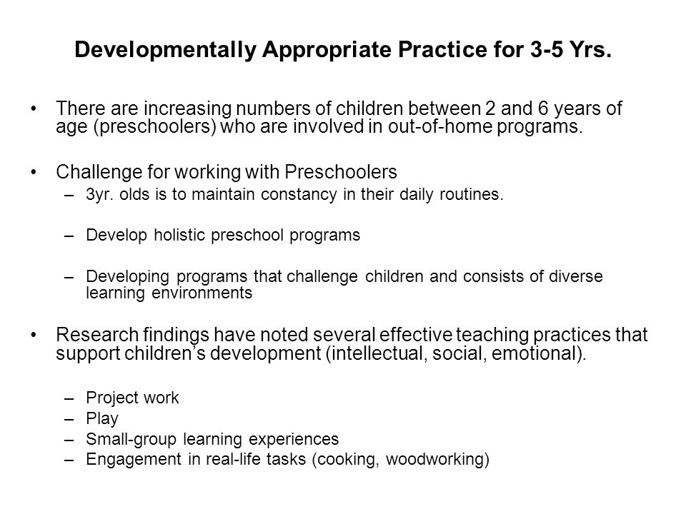 what is developmentally appropriate practice Developmentally appropriate practice in early childhood programs serving children from birth through age 8, third edition by carol copple, sue bredekamp.