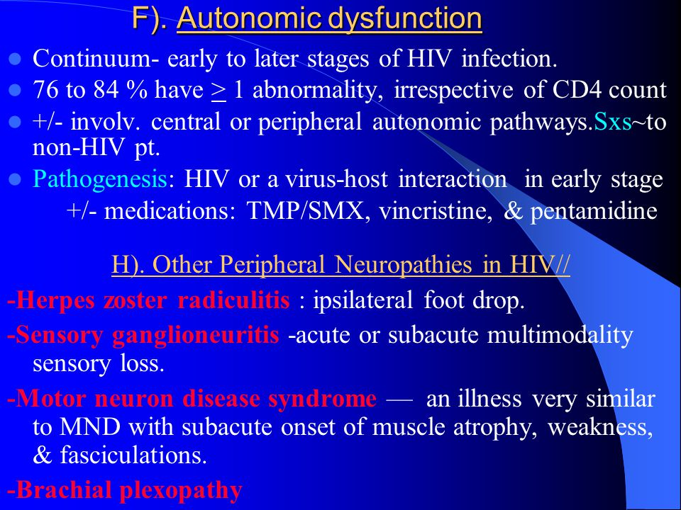 Hiv neurology by dawit ayele july ppt download for Motor neuron disease symptoms early