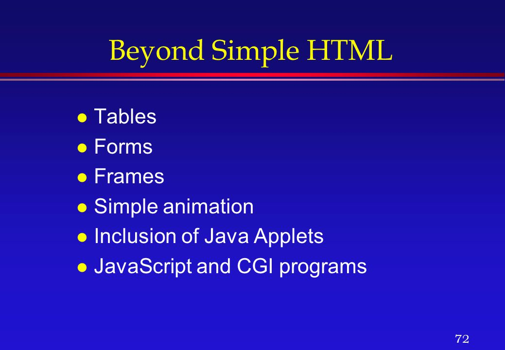 Internet services and www ppt download for Javascript table th width