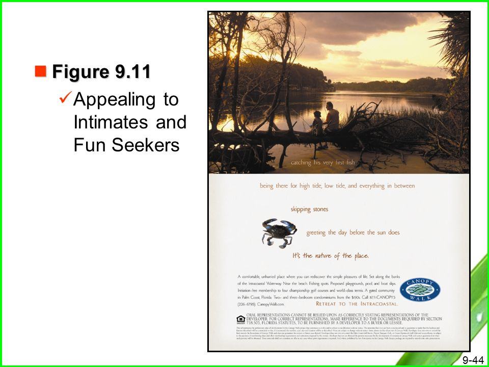 Figure 9.11 Appealing to Intimates and Fun Seekers