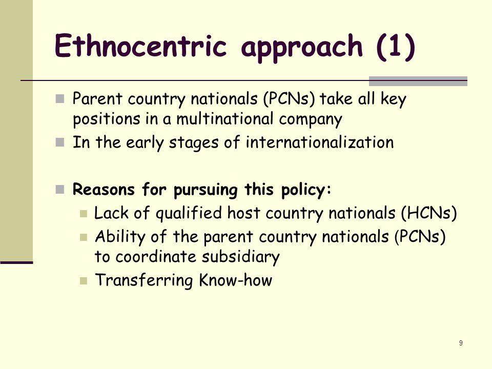 regiocentric example