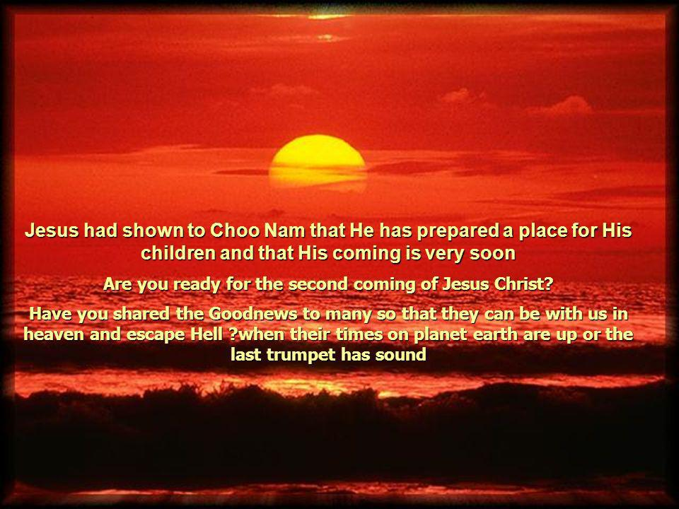 Are you ready for the second coming of Jesus Christ