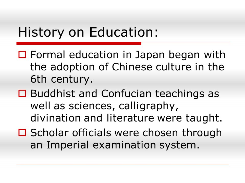 imperial examination system longest educational system The imperial exams is the confucian examination system with which the son of with little or no educational background nor was the system biased.