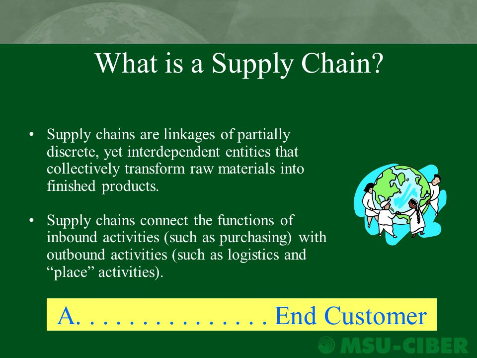 global supply chain definition pdf