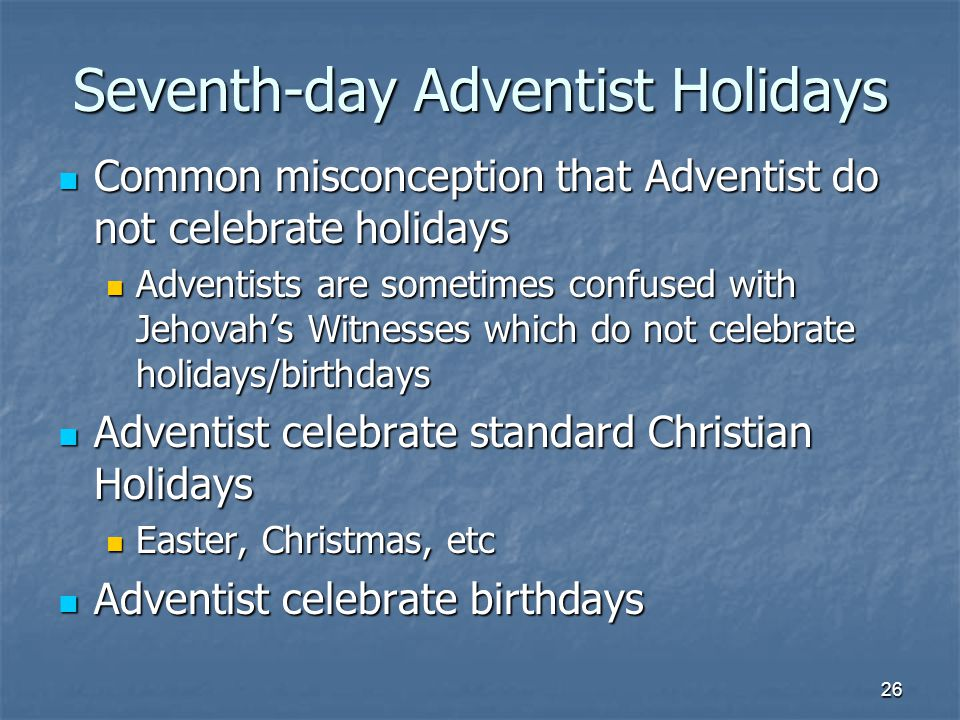 Do Jehovahs witnesses celebrate Christmas birthdays Easter - induced