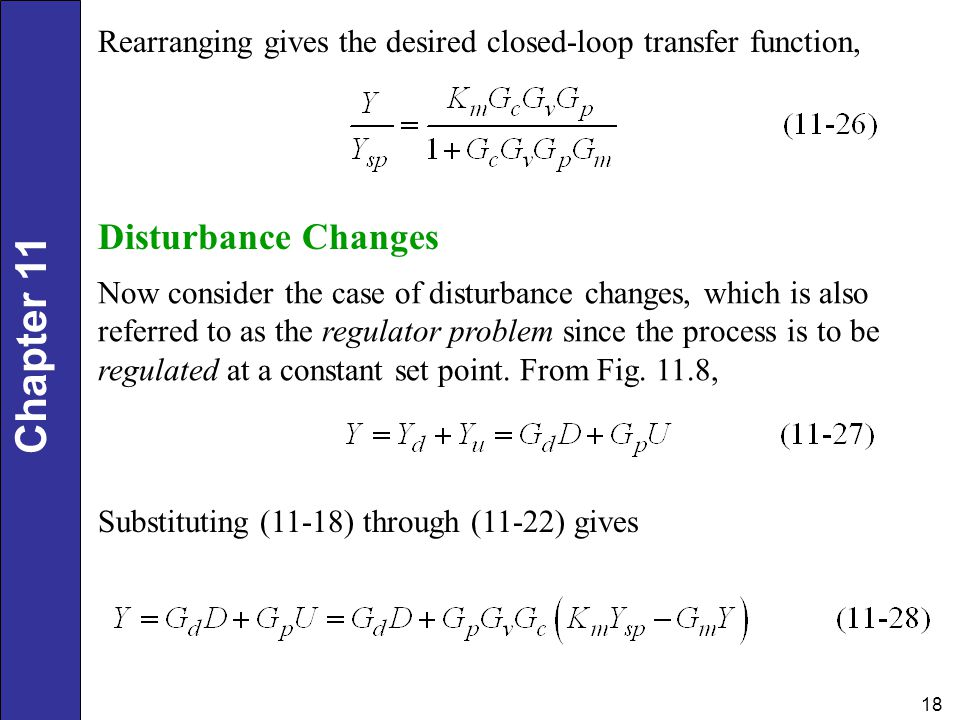 Rearranging gives the desired closed-loop transfer function,