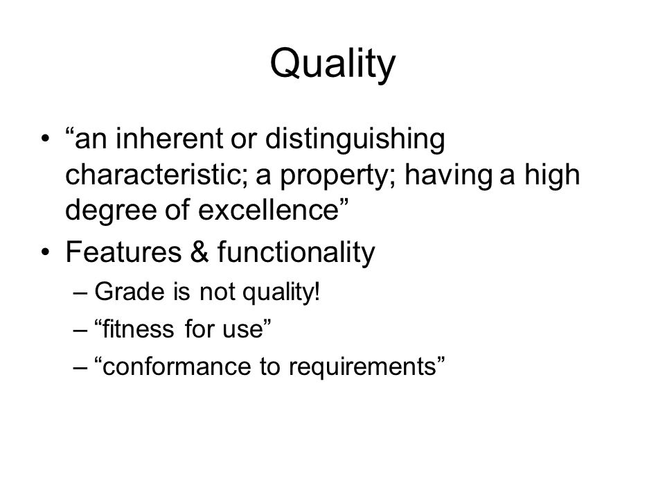 a description of quality as having a high degree of excellence by webster Honor explanation define honor by webster's dictionary  honor - the quality of being honorable and having a good name honor high estimation.