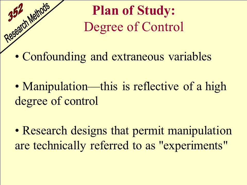 under what conditions are randomized experimental methods superior to quasi experimental methods Researchers use either experimental or quasi-experimental designs to establish  the  and, from the moment of randomization, they will be exposed to the same  outside  this method works best when similar sites are matched, and when the .