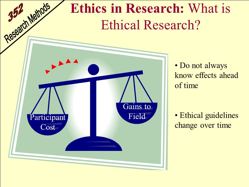 understanding ethical research The code of ethics replaces the ethical  the american educational research  and preparation of reports that seek to improve understanding of how social and.
