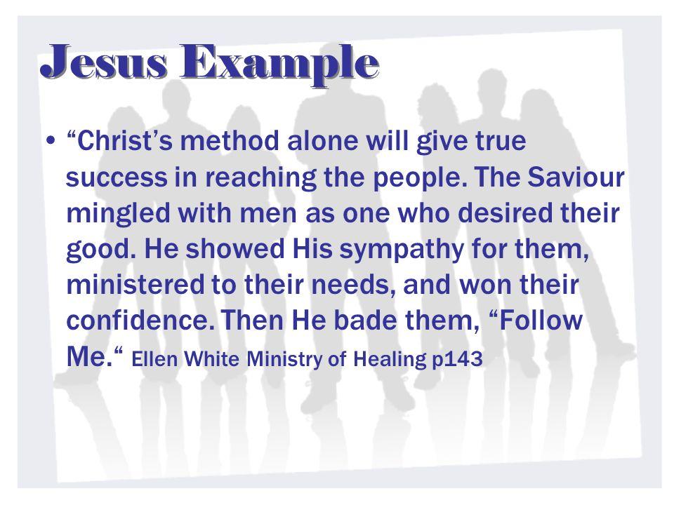 Jesus Example