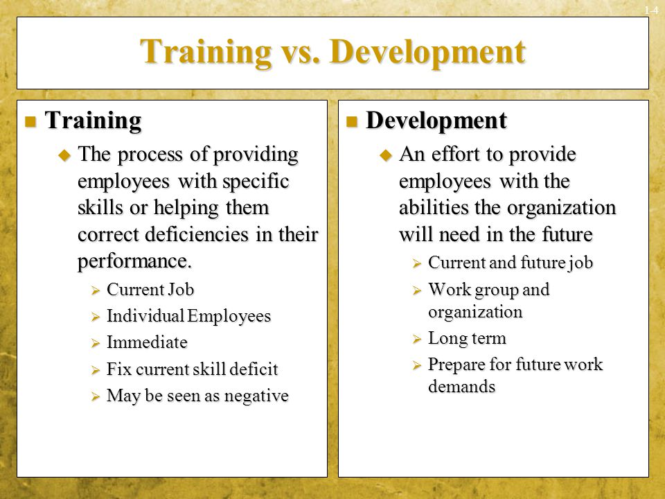 Training and Development - Meaning, its Need and Importance