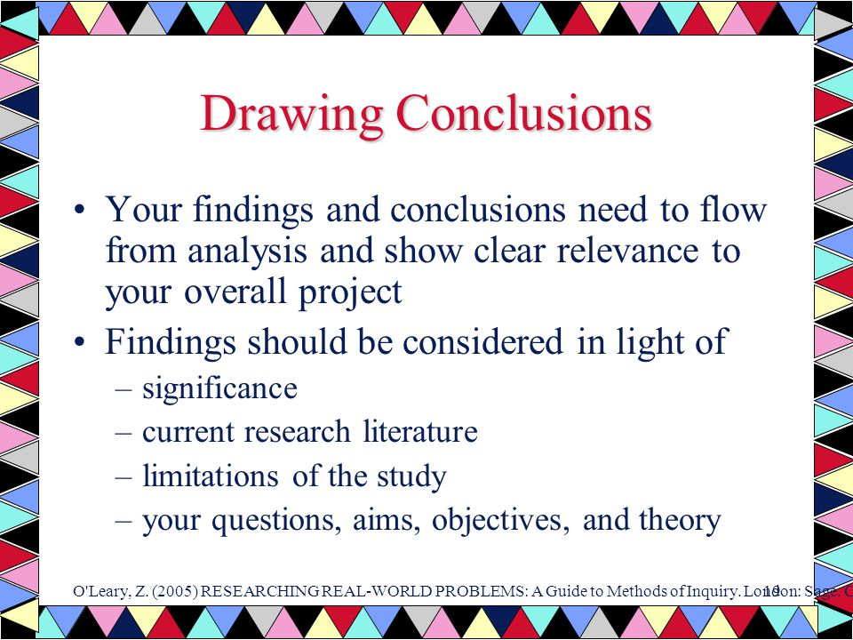 a conclusion on overall the project How to write a good lab conclusion in the rerun method can be a useful structure overall for a this helped with a science project which was.
