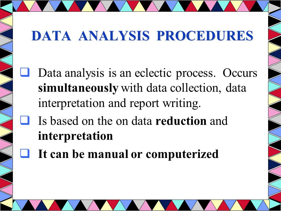 data analysis interpretation Water quality data emphasizes the interpretation of a water analysis or a group  of analyses, with major applications on ground-water pollution or contaminant.