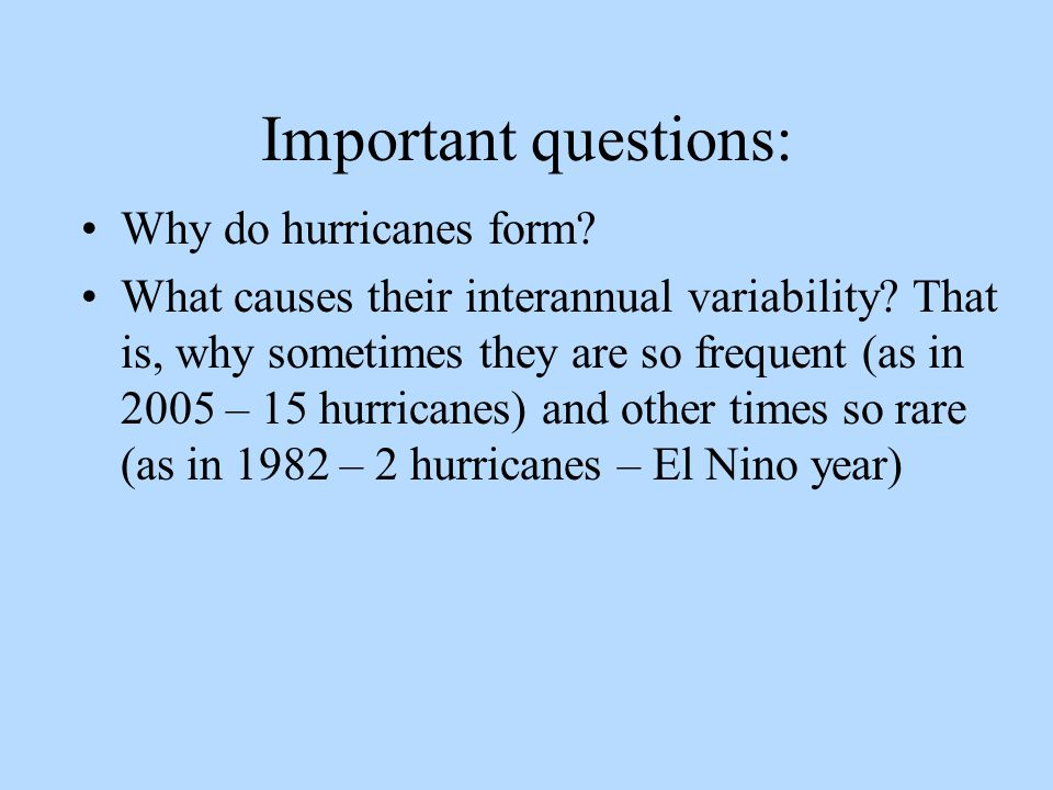 Tropical Storms and Hurricanes - ppt video online download