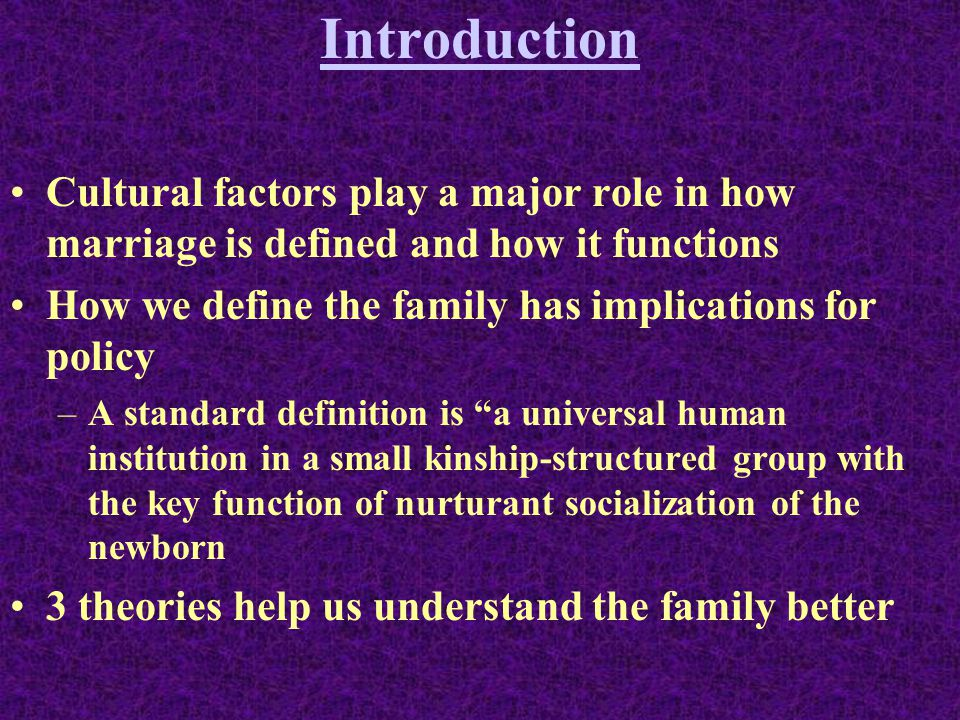 Sociology 105 Chapter 11 Marriage & Family. - ppt download