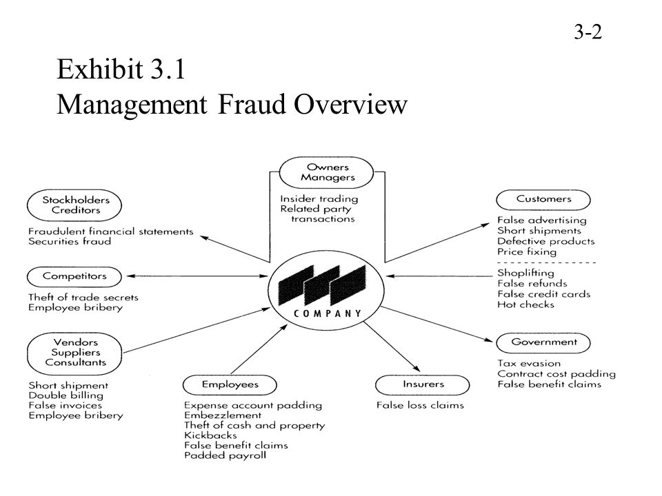Exhibit 3.1 Management Fraud Overview