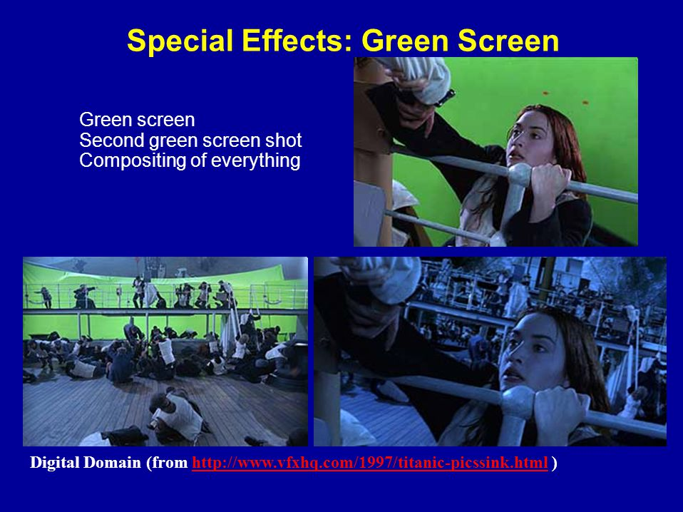 digital composite in special effects Visual effects, also known as special  benoit girard is the founder of digital dimension, a special effects house  is a green-screen composite of.