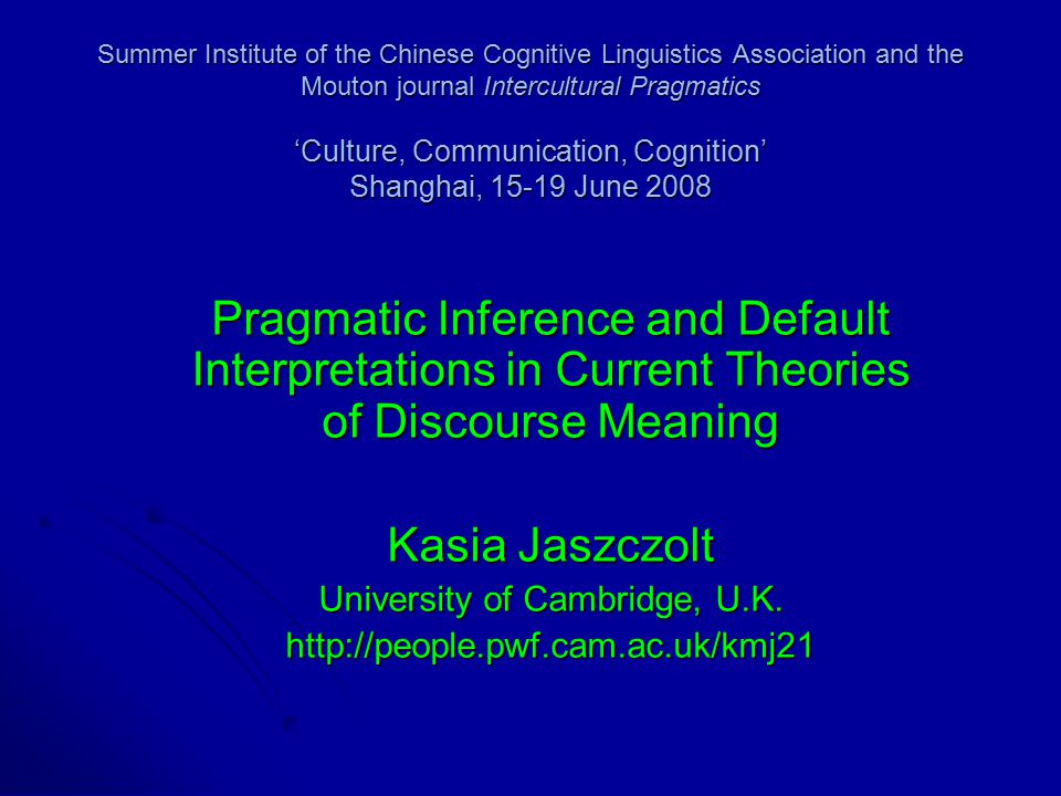 categories an essay on cognitive linguistics This chapter introduces the field of polysemy and synonymy studies from a cognitive linguistic perspective firstly, the discussion explains and defines the object of research, showing that the study of semantic relations, traditionally restricted to the description of lexical semantics, needs to be extended to include all formal structures.
