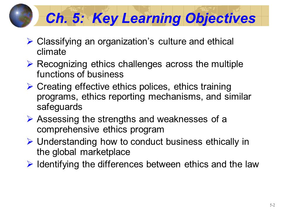 ethical climate in organisation The ethical climate of an organization refers to the perception of what ethical behavior is and how ethical issues should be managed (arnaud, 2006).