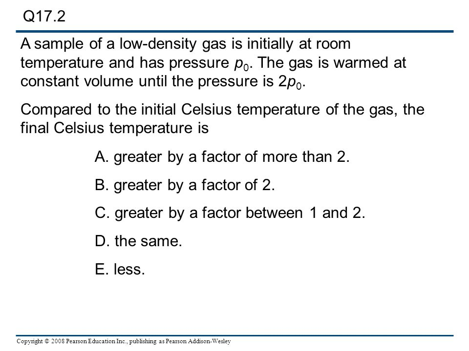 Chapter 17 Temperature and Heat. - ppt download