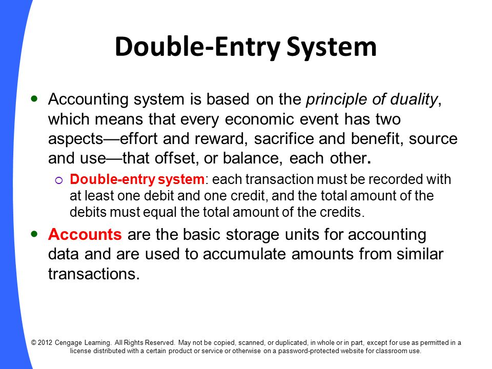 double entry system Pdf | what we know today as double entry bookkeeping is traceable to a man called luca pacioli, the author of the world's first printed.