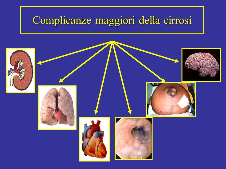 Complicanze maggiori della cirrosi