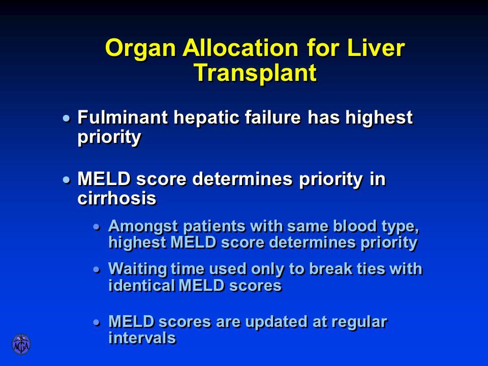 Organ Allocation for Liver Transplant