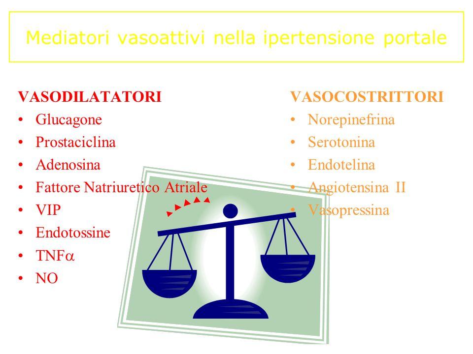 Mediatori vasoattivi nella ipertensione portale