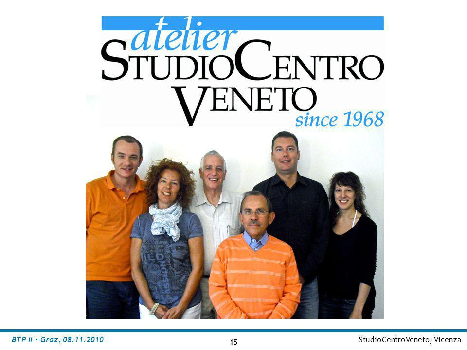 BTP II - Graz, 08.11.2010 StudioCentroVeneto, Vicenza 15