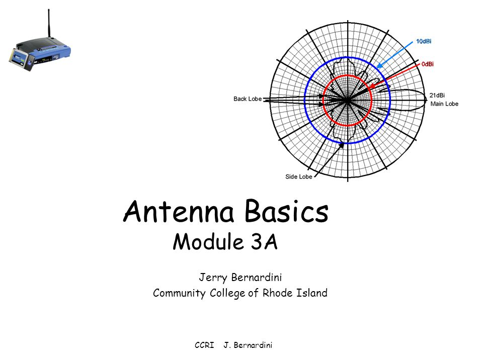 basics of antenna In radio, an antenna is the interface between radio waves propagating through space and electric currents moving in metal conductors.