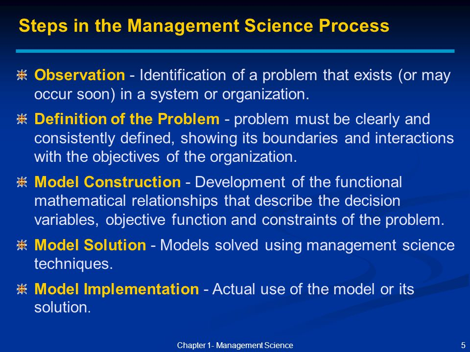 what is scientific management how might Decision making process in management  scientific decision-making  careful and cautious while taking the decisions or he might not have followed the decision.