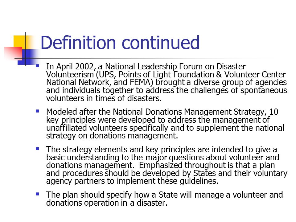 Volunteer And Donations Management Ppt Video Online Download