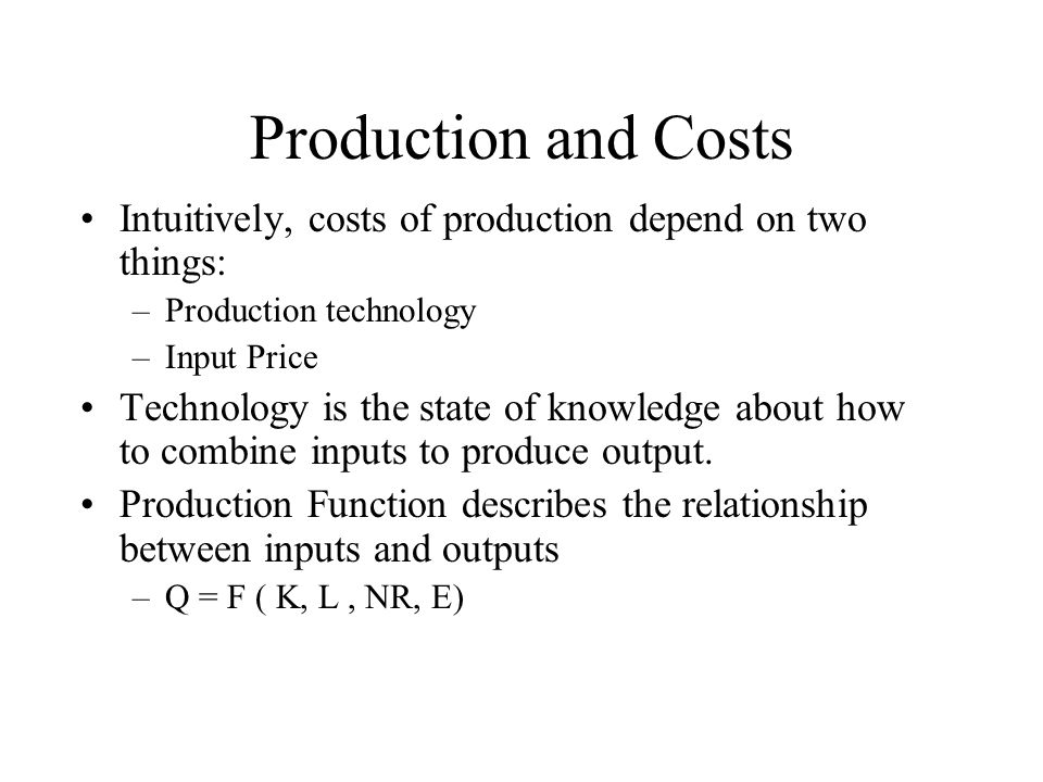 the aggregate production function describes relationship between